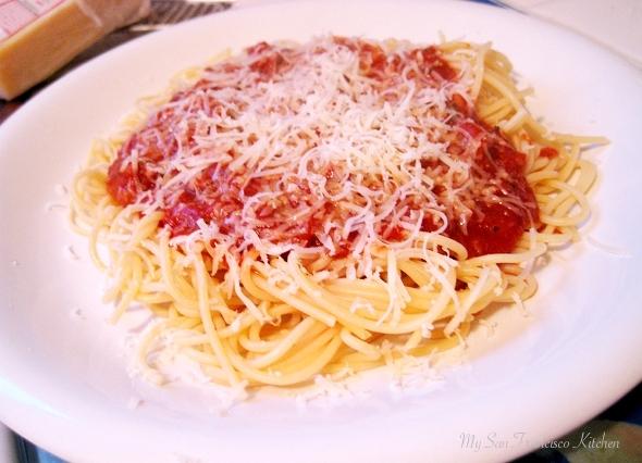 ... sauce mom s best spaghetti sauce recipe dishmaps mom s best spaghetti