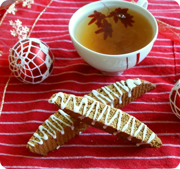 Gingerbread Biscotti