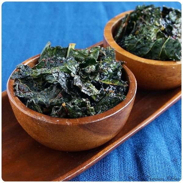 chili kale chips