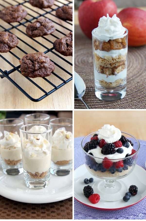 skinny mini dessert photos