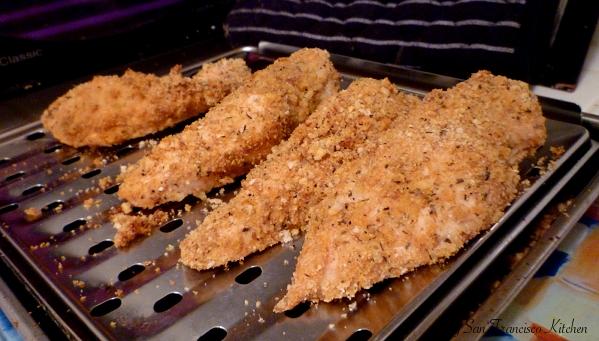 Baked Breaded Lemon Chicken