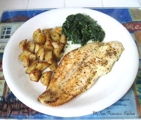 Fish Will Be Opaque When Done And Easily Flaked With The Spatula Sides Should Both Look Golden Crispy