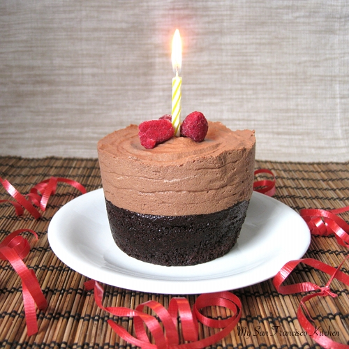 Birthday Cake Images Small : Mini Chocolate Mousse Cake