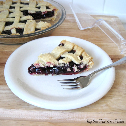 Allow to cool for 30minutes to 1 hour before serving. & Fresh Organic Cherry Pie