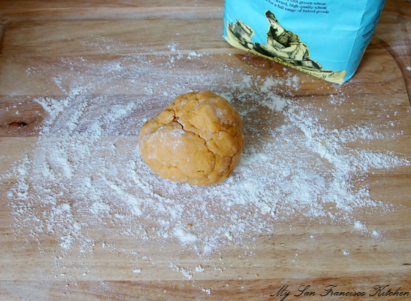 cheese cracker dough