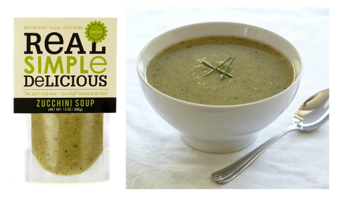 Real Simple Delicious zucchini soup