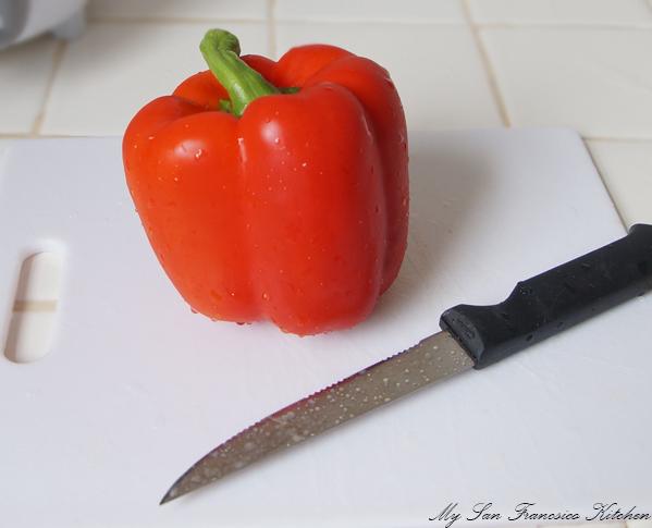 red bell pepper