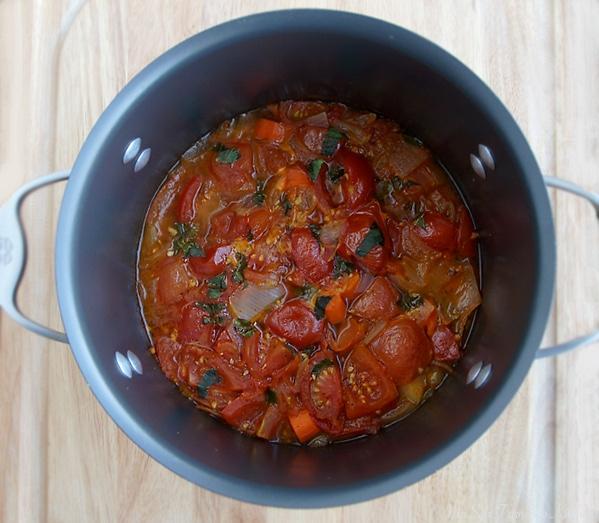 fresh tomato soup
